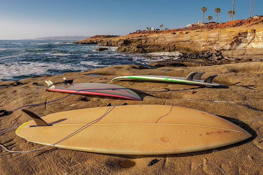 Surfboards Photograph - The Boards by Peter Tellone