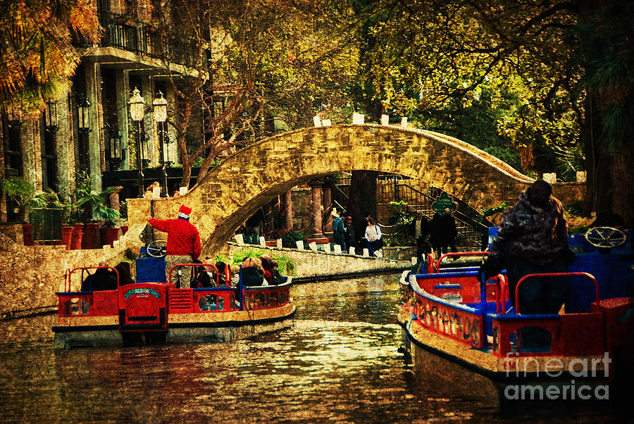 San Antonio Photograph - The Boats by Iris Greenwell