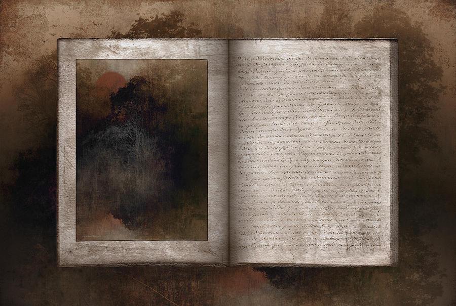 Ron Jones Digital Art - The Book Of Life by Ron Jones