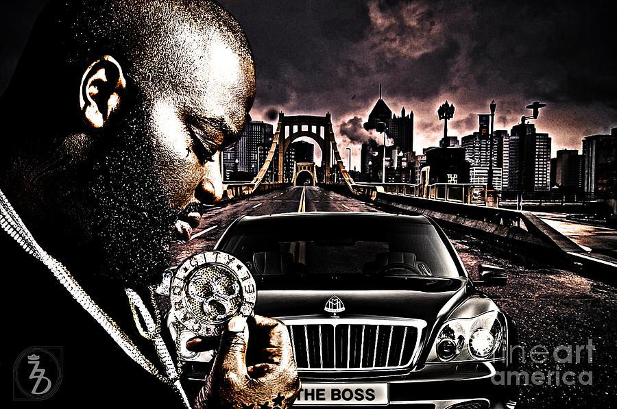 The Boss Digital Art - The Boss by The DigArtisT