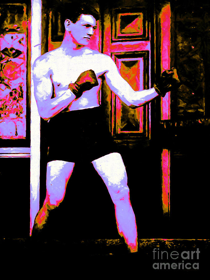 Sport Photograph - The Boxer - 20130207 by Wingsdomain Art and Photography