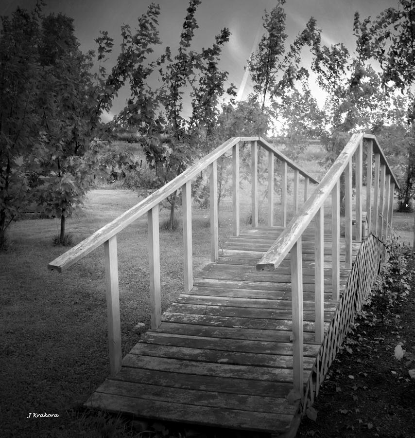Bridge Photograph - The Bridge 2 by John Krakora