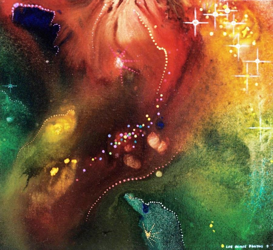 Spiritual Painting - The Bridge To Paradise by Lee Pantas