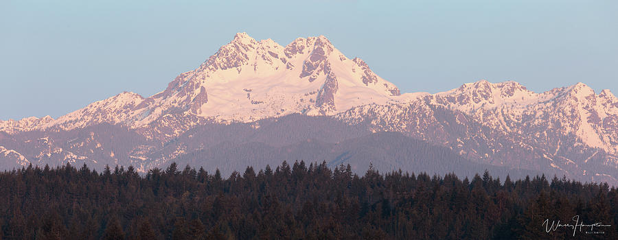 The Brothers, Olympic Mountains, Wa - 8646,s Photograph