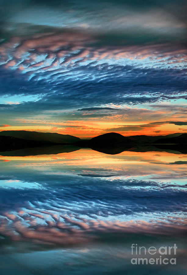 Sunset Photograph - The Brush Strokes Of Evening by Tara Turner