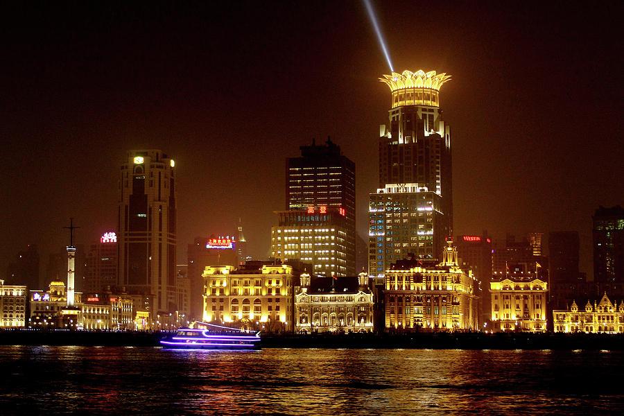 Bund Photograph - The Bund - Shanghais Magnificent Historic Waterfront by Christine Till
