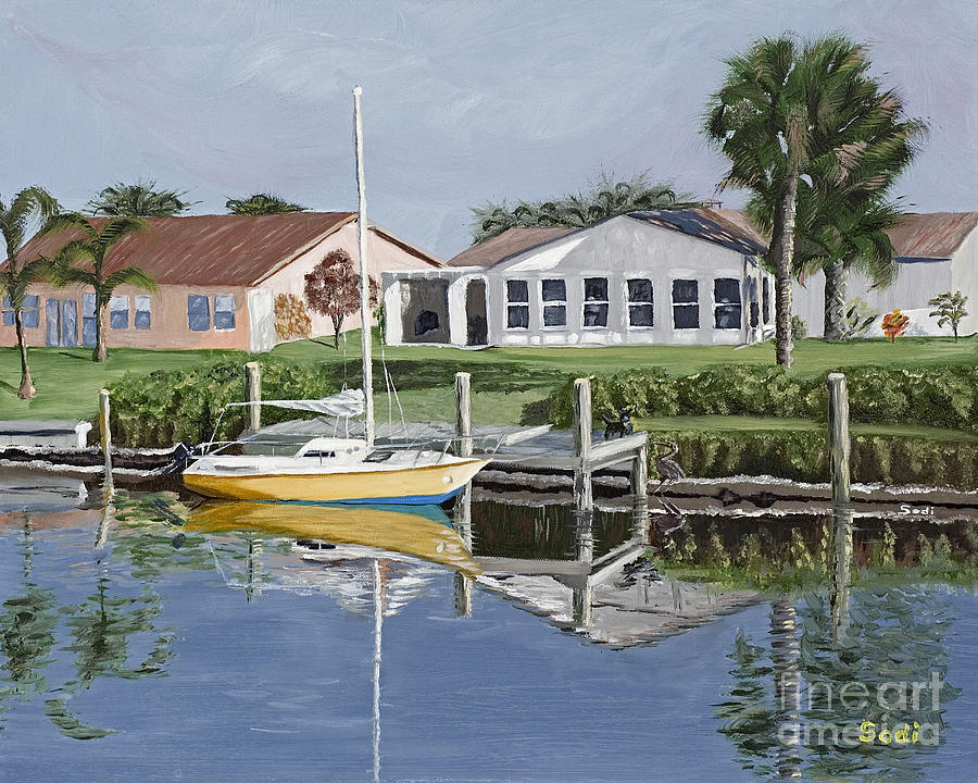 The Canal Awakens Painting