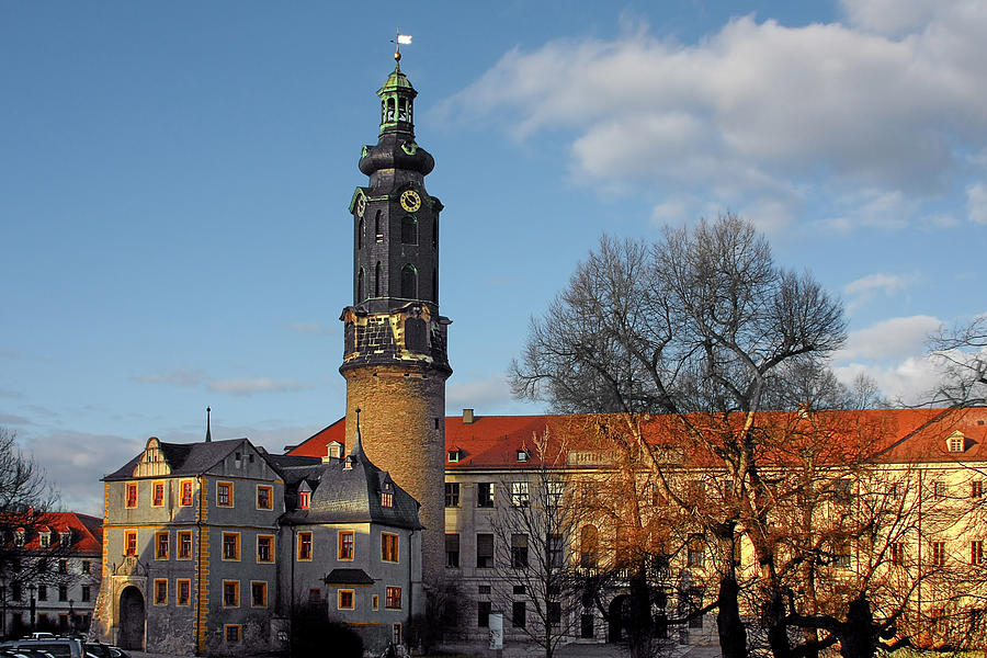 Weimar Photograph - The Castle - Weimar - Thuringia - Germany by Christine Till
