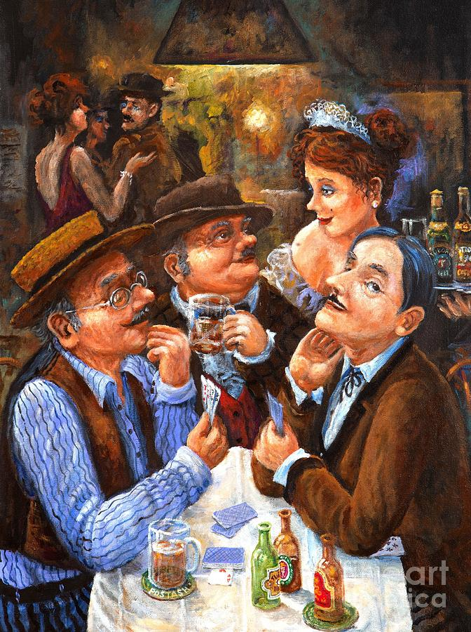 Figurative Painting - The Cheater by Igor Postash