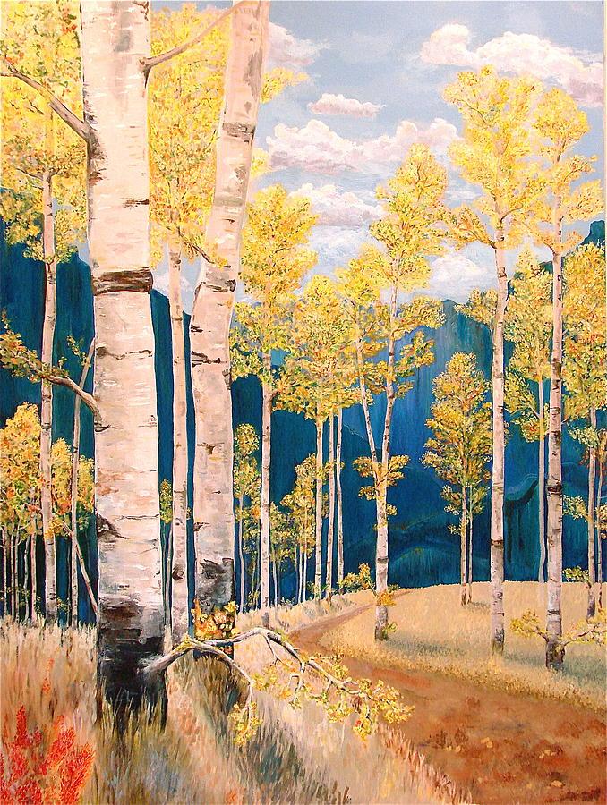 Rebecca Robinson Painting - The Chosen Path by Rebecca Robinson