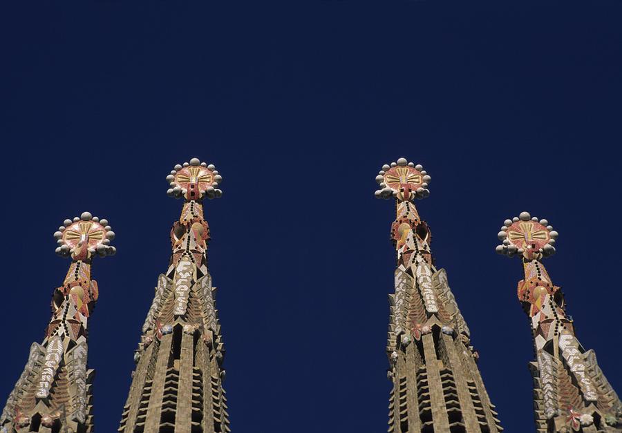 The Church Of La Sagrada Familia Photograph