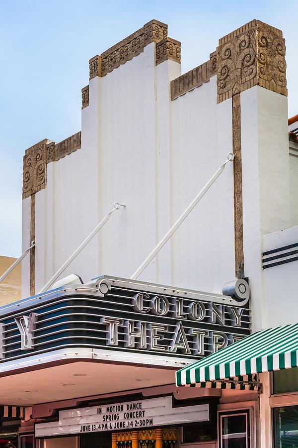 The Colony Theatre Photograph