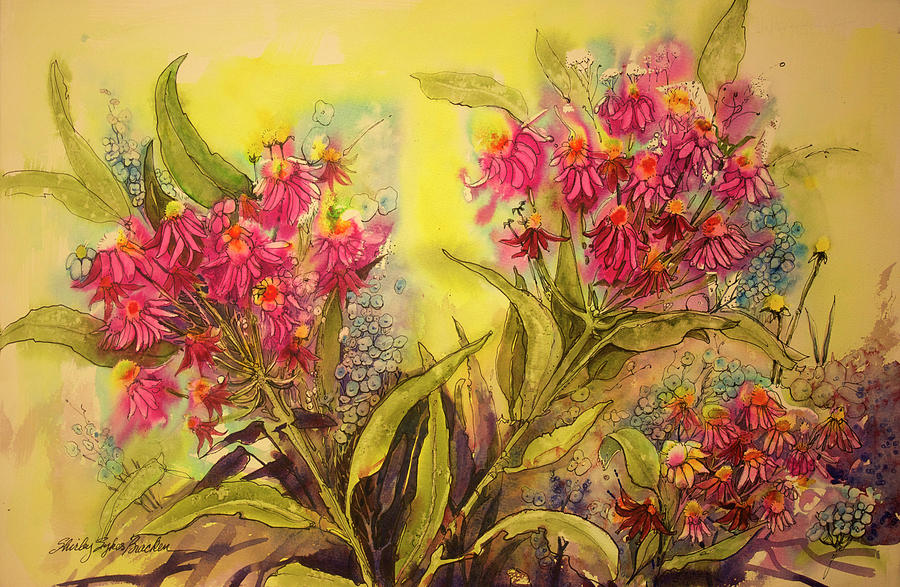 The Color Of Flowers Painting