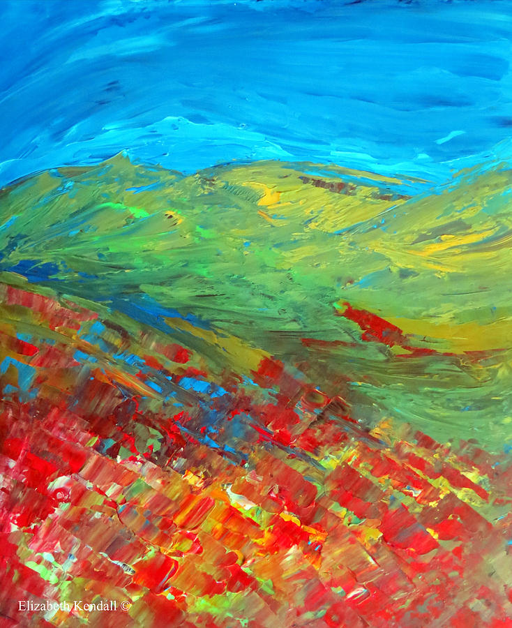 Summer Painting - The Colour Of Summer by Elizabeth Kendall