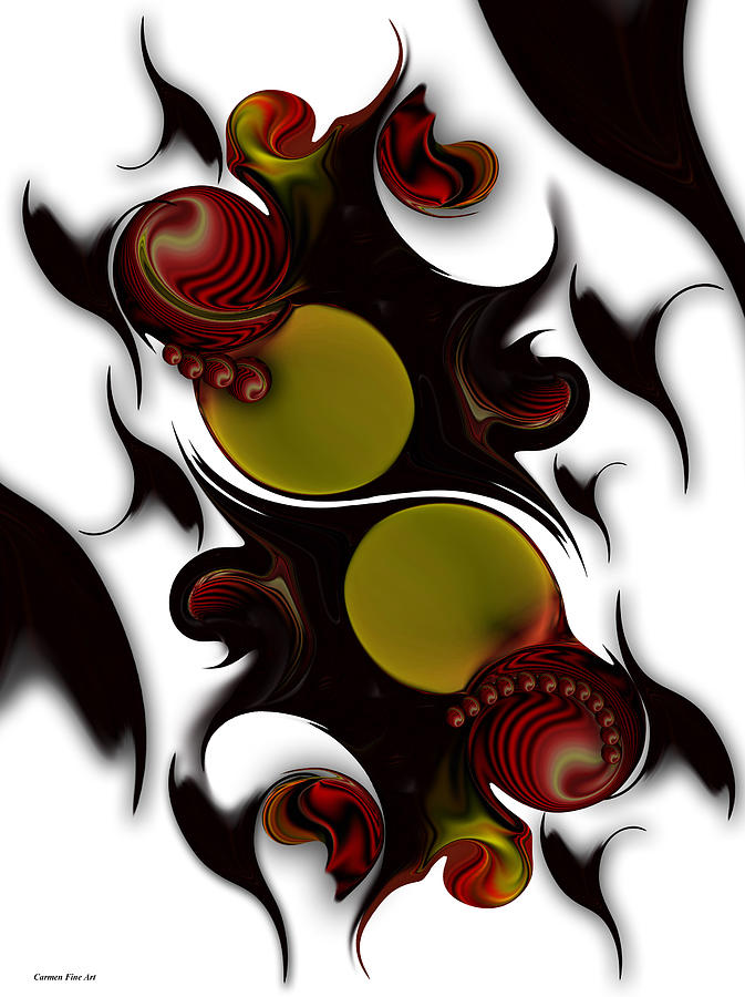 The Continuation Of Dreams Digital Art by Carmen Fine Art