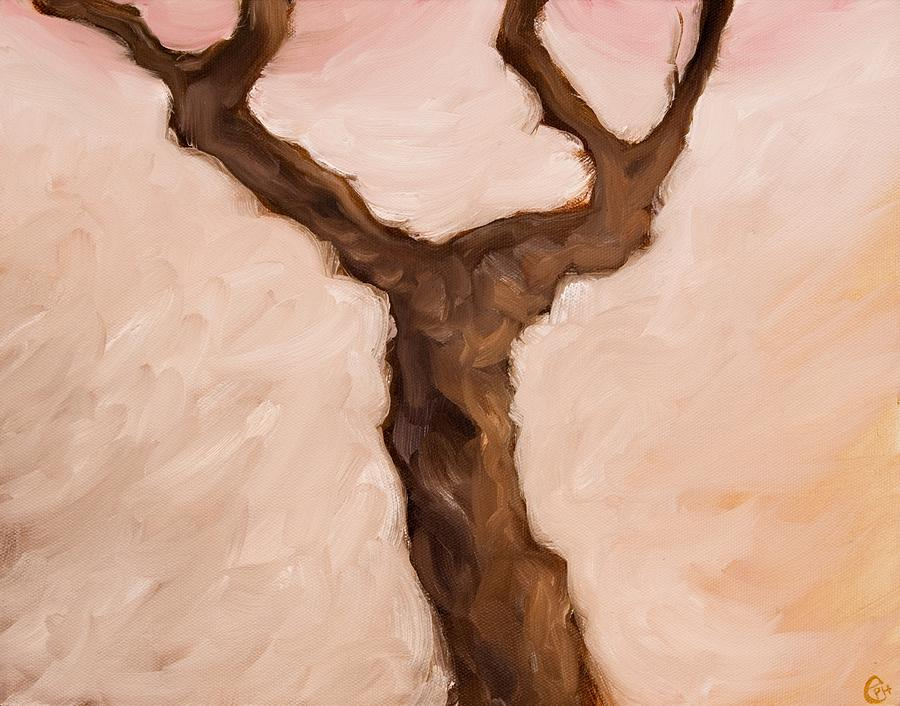 Trees Painting - The Desk In The Hall That Holds The Letter by Ethan Harris