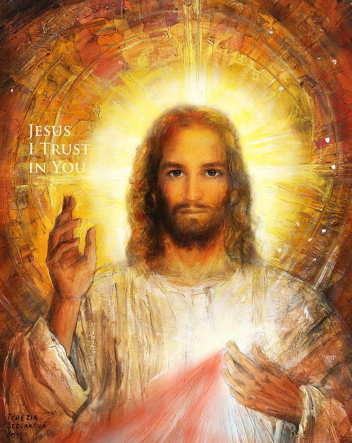 The Divine Mercy, Jesus I Trust In You
