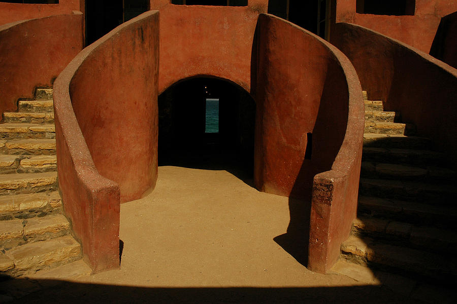 Africa Photograph - The Door Of No Return On Goree Island by Bobby Model