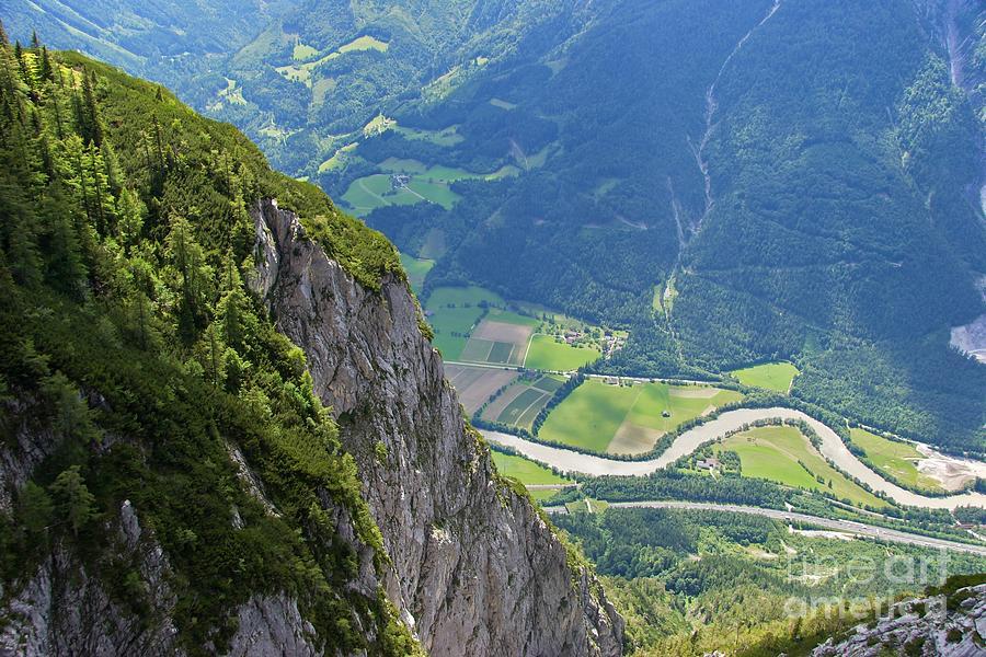 The Edge Of The Precipice Photograph
