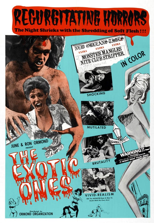 1960s Movies Photograph - The Exotic Ones, Aka The Monster And by Everett