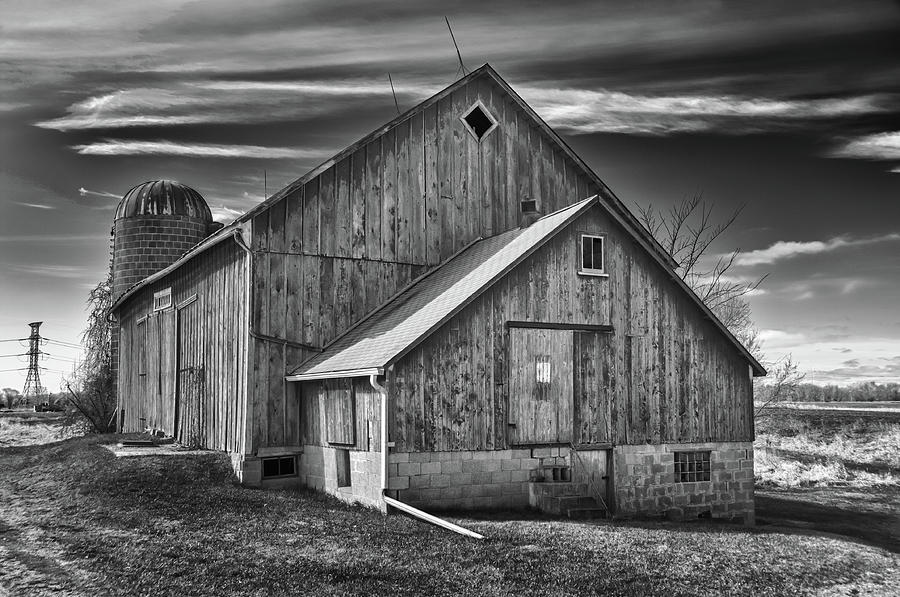 Barn Photograph - The Fargo Project 12232b by Guy Whiteley