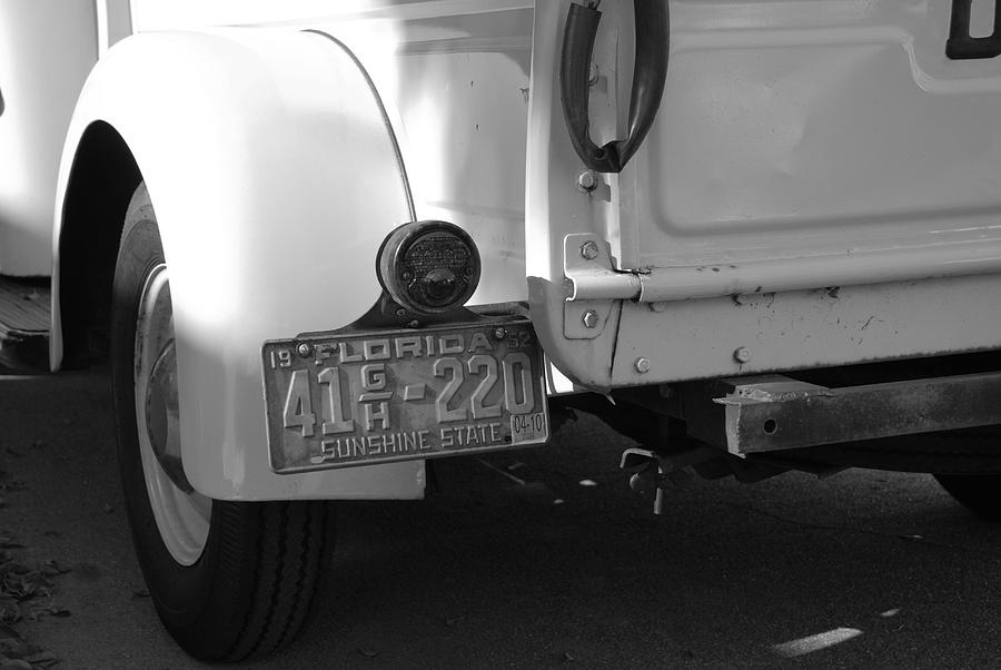 Black And White Photograph - The Florida Dodge by Rob Hans