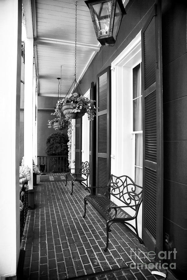 The Front Porch Photograph - The Front Porch by John Rizzuto