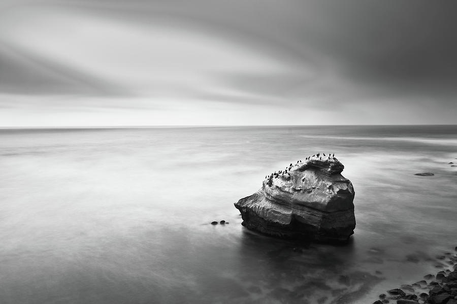 Sea Photograph - The Gathering by Ryan Weddle