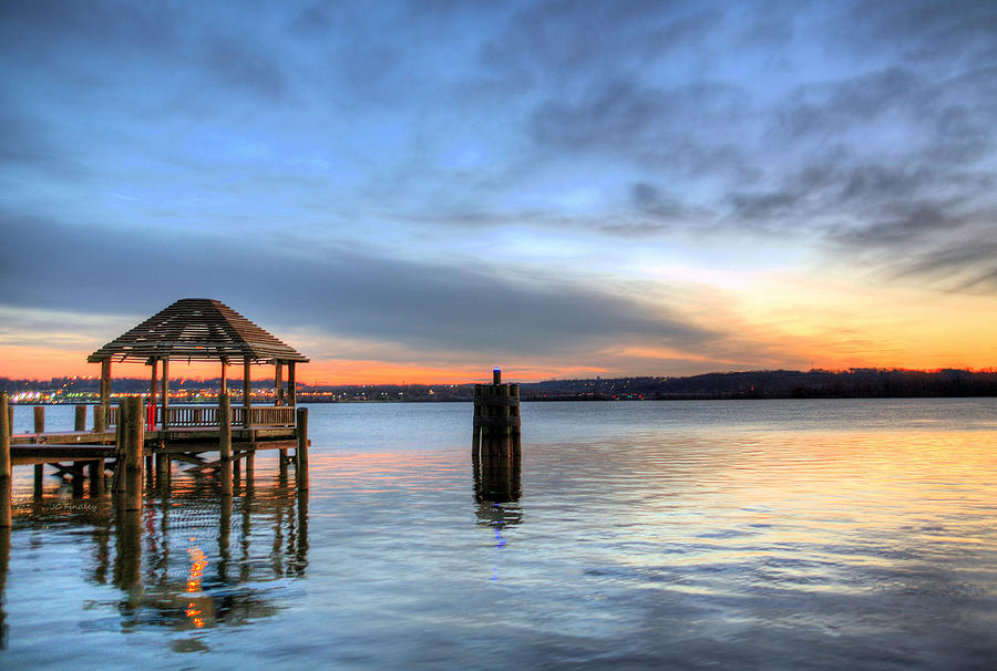 Potomac Photograph - The Gazebo  by JC Findley
