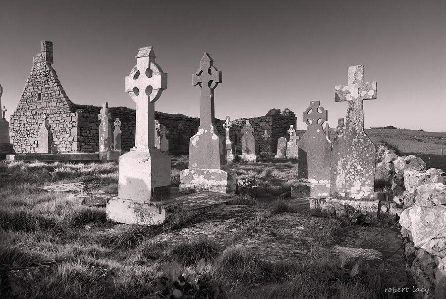 Ireland. Doolin Photograph - The Ghosts Of Ireland by Robert Lacy