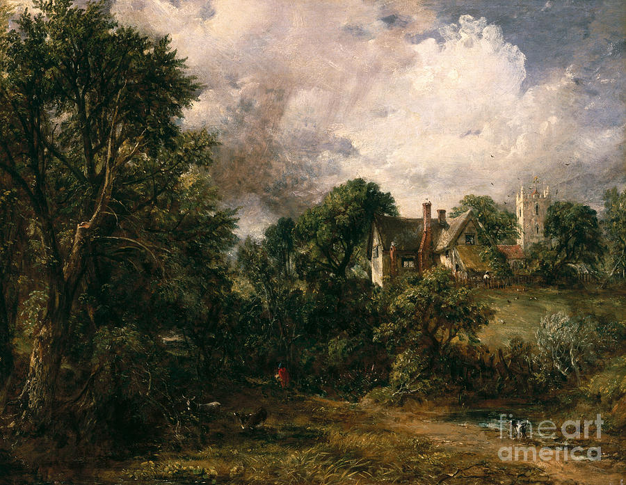 The Painting - The Glebe Farm by John Constable