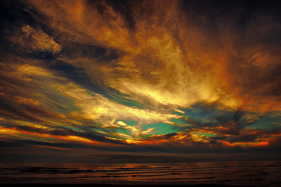 Sunset Photograph - The Glory by James Heckt