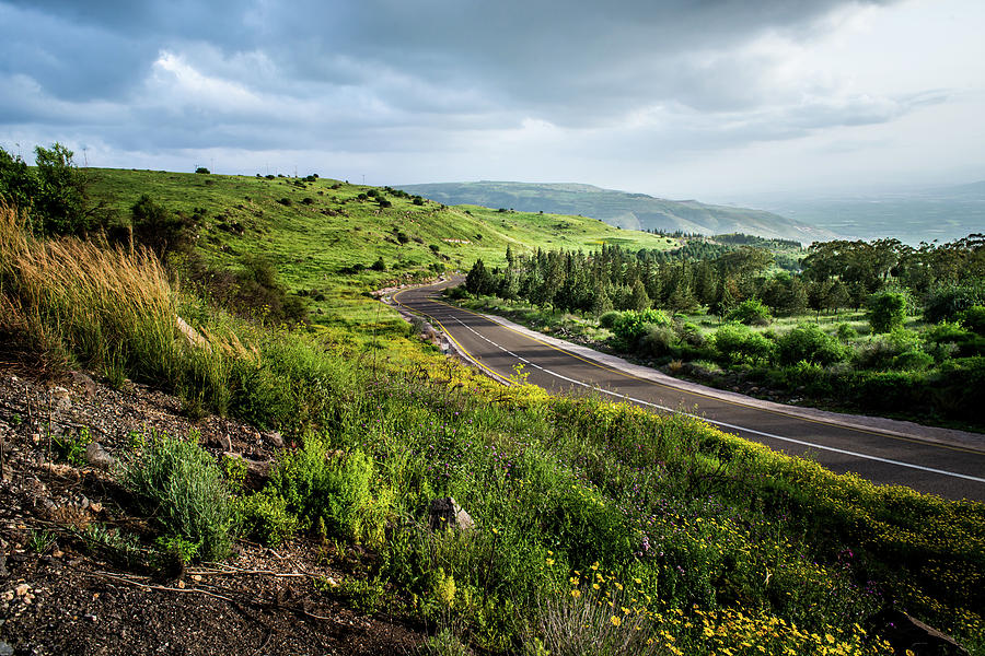 Neot Golan Israel  city photo : The Golan Heights,israel is a photograph by Aslan Avgana which was ...