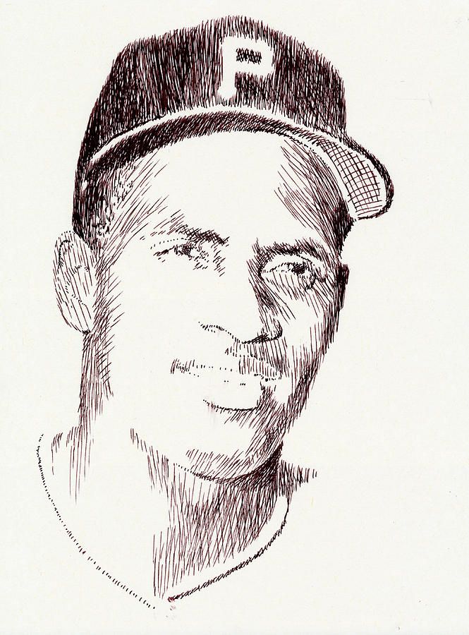 Pen Drawing - The Great One by Robbi  Musser