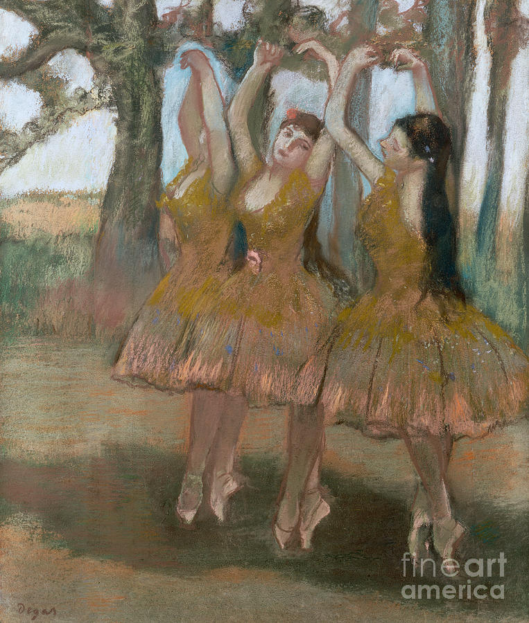 The Greek Dance Painting