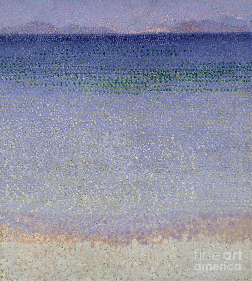 The Iles D'or (the Iles D'hyeres Painting - The Iles Dor by Henri Edmond Cross