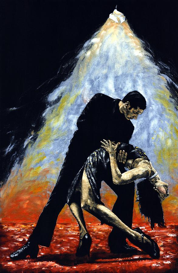 Tango Painting - The Intoxication Of Tango by Richard Young