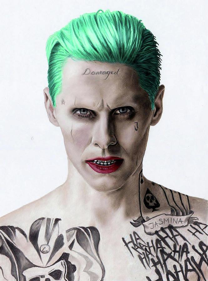 The Joker Fanart Drawing By Jasmina Susak