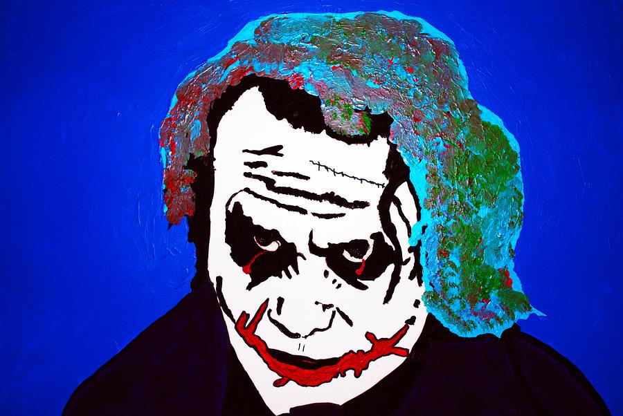The Joker Sucking On A Pistol Drawing