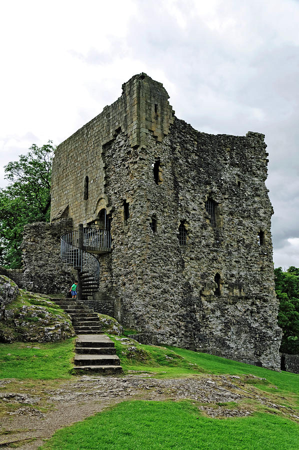 The Keep - Peveril Castle Photograph