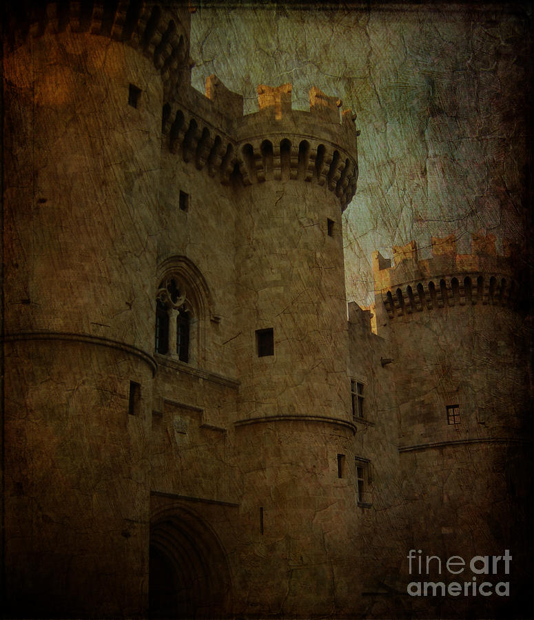 The King's Layer Photograph - The Kings Medieval Layer by Lee Dos Santos