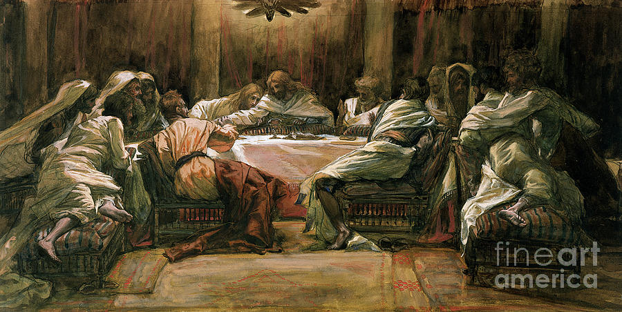 the last supper painting by tissot