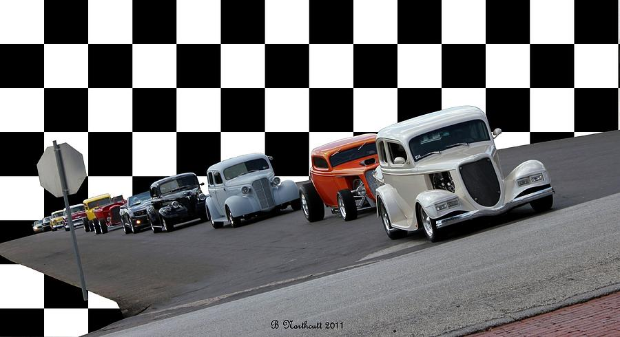 Classic Photograph - The Line-up by Betty Northcutt