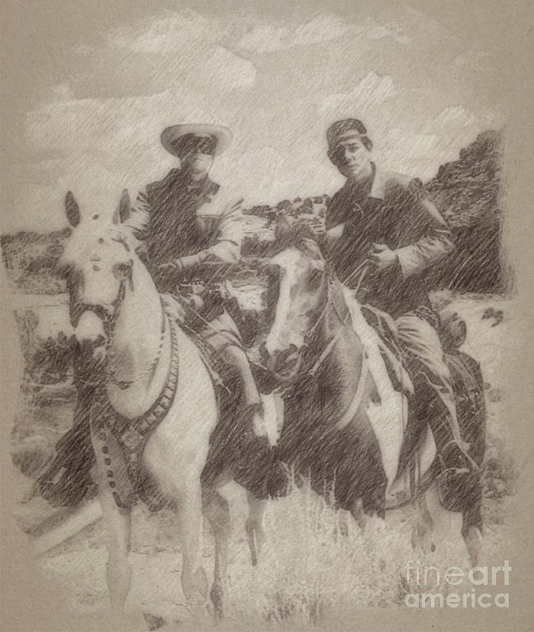 The Lone Ranger Drawing