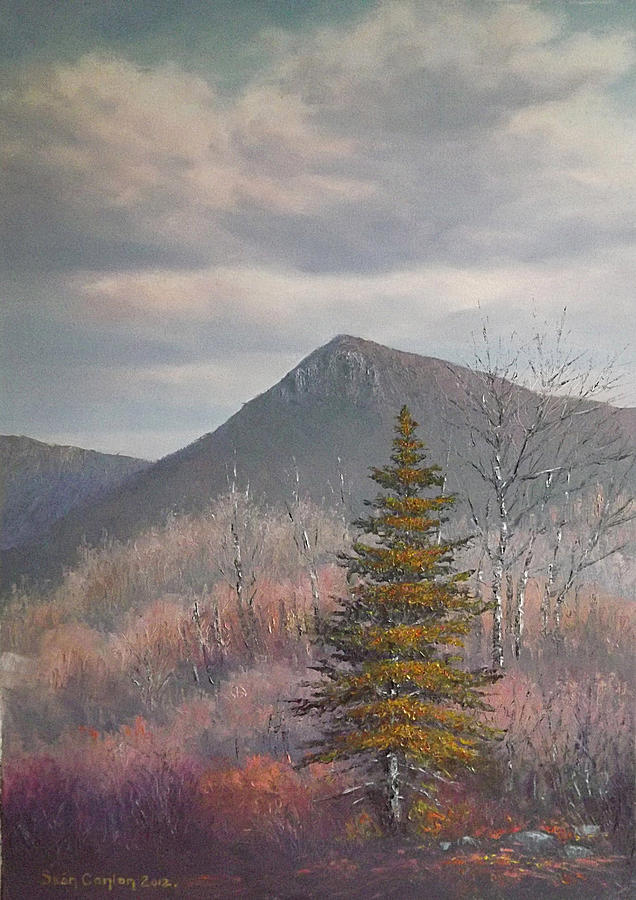 Landscape Painting - The Lonesome Pine by Sean Conlon