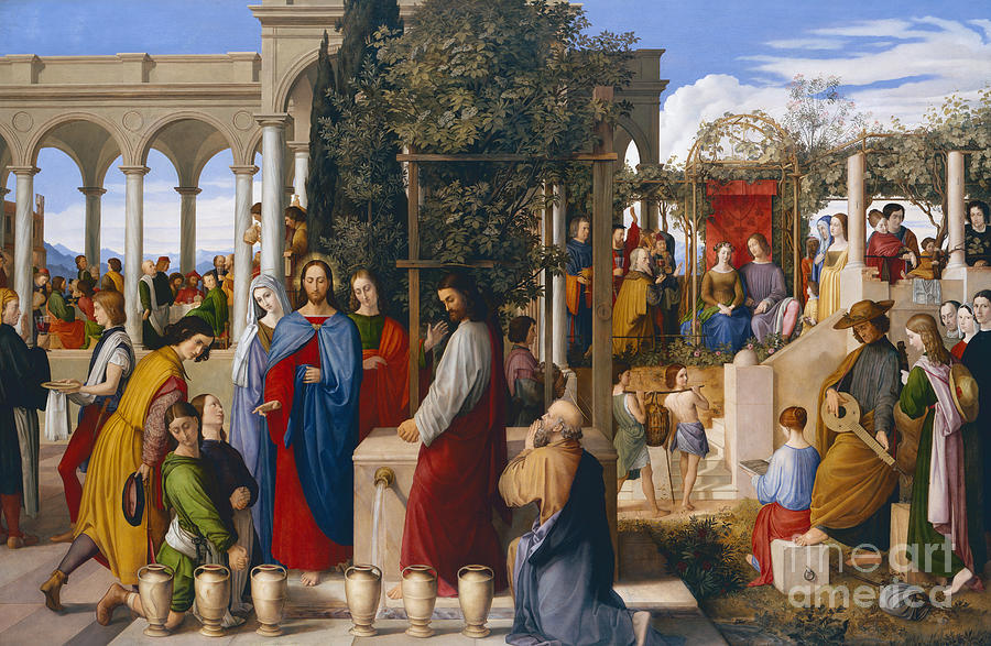 The Marriage At Cana Painting