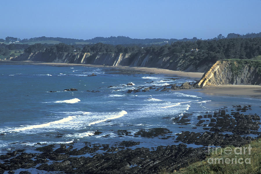 California Photograph - The Mendocino Coast by Stan and Anne Foster