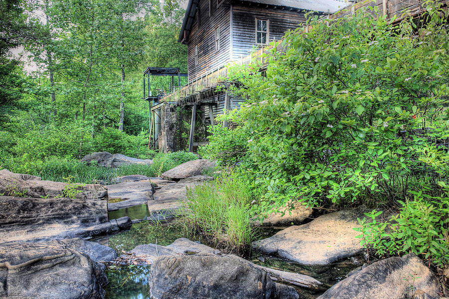 Halawaka Photograph - The Mill by JC Findley