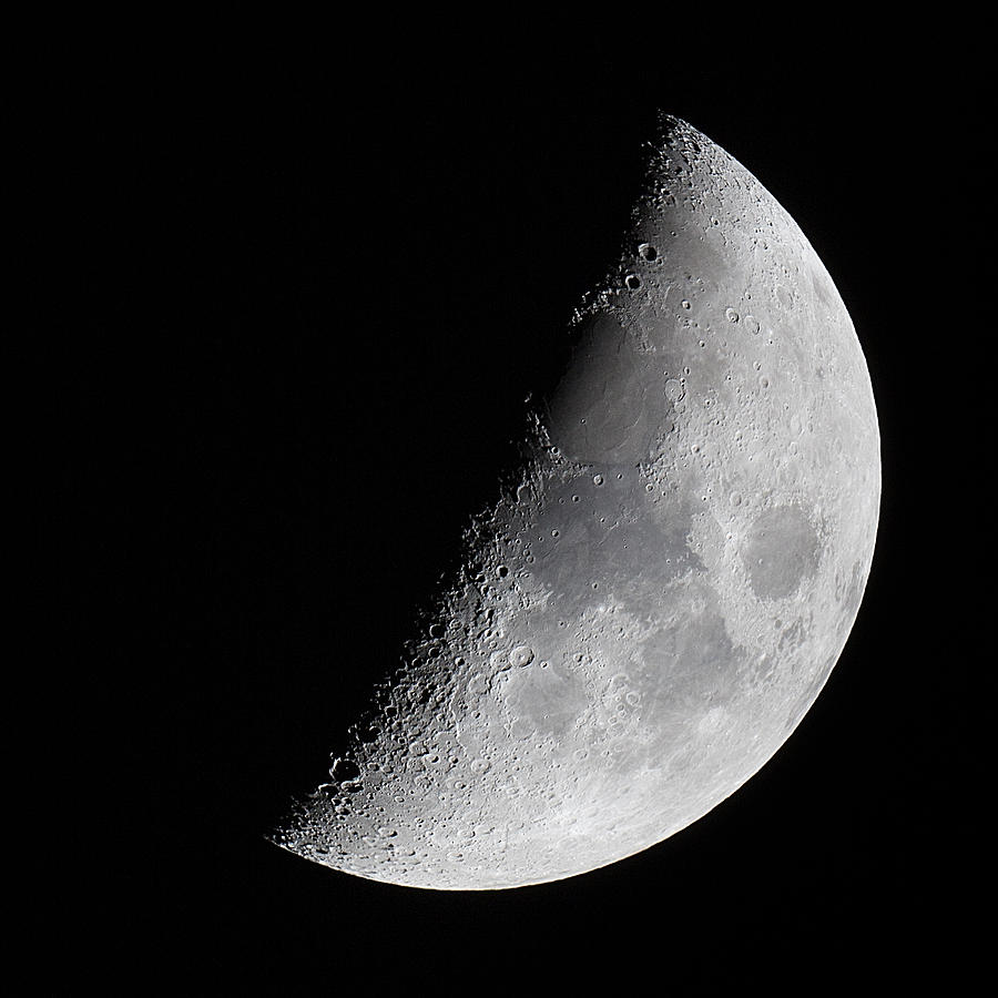 The Moon Tonight Photograph by Tim Booth