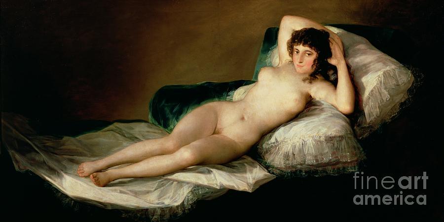 Naked Maja Artist 101